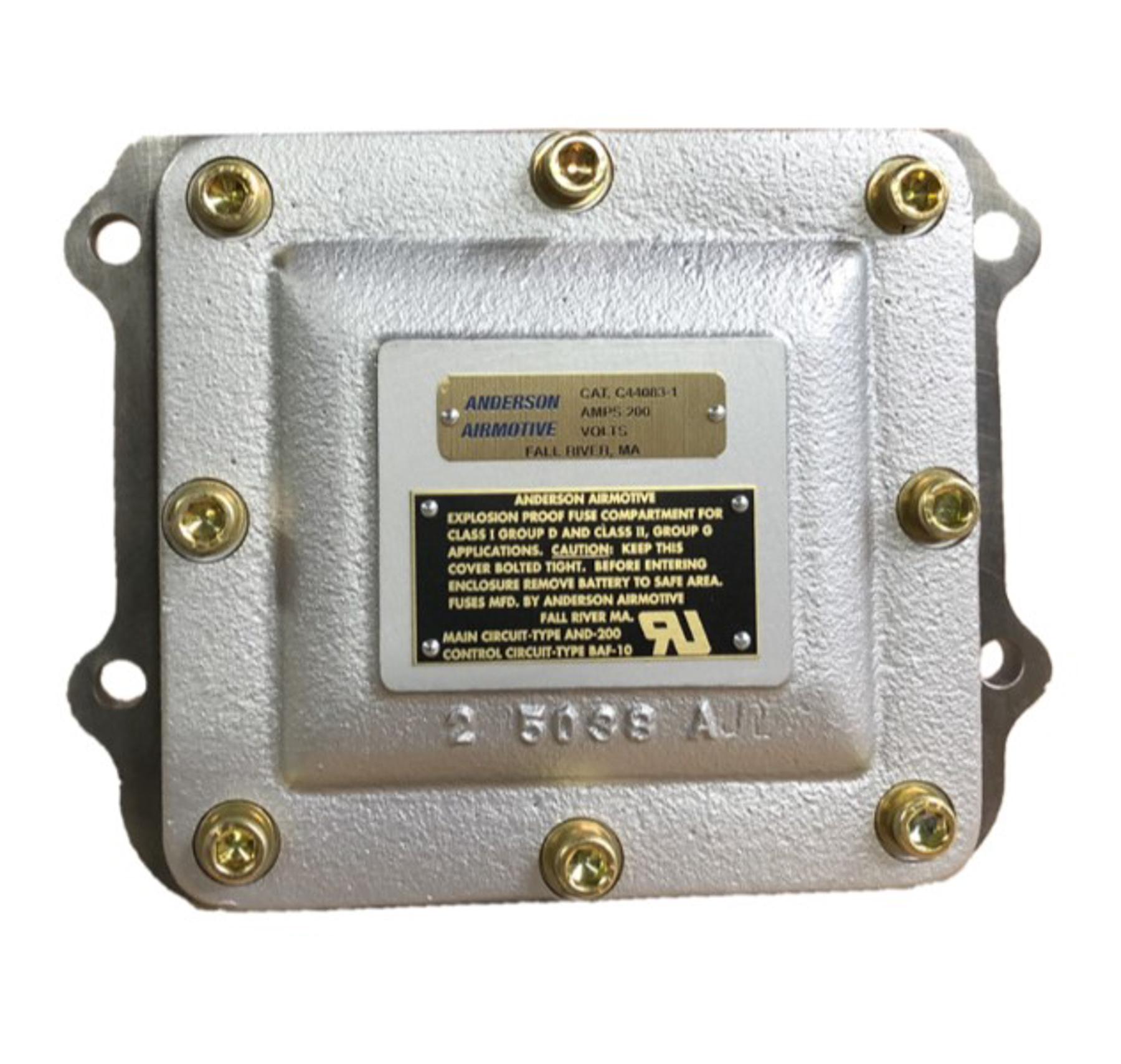 150 amp fuse box c44083 1 explosion proof fuse compartment  150 ampere anderson  explosion proof fuse compartment